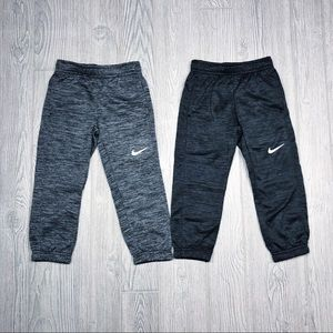Nike NEW | boys therma sweatpants (2) size 4